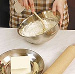 как сделать слоеное тесто быстро