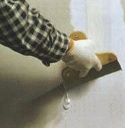 как заделать трещины на гипсокартоне