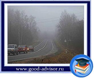 управление автомобилем в плохую погоду